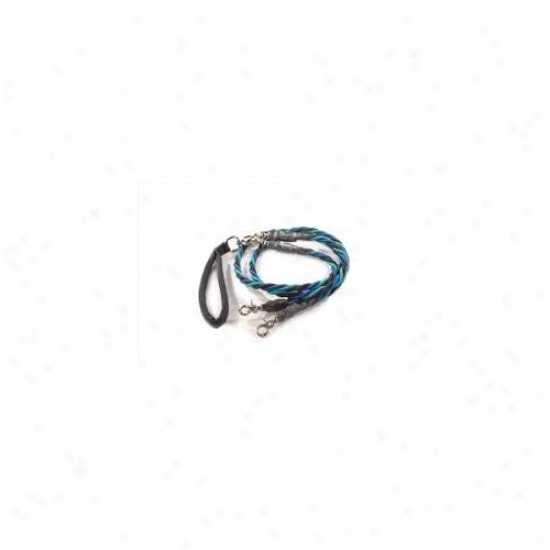 Bungee Pupee Tt307d Doublr Large Up To 65 Lbs - Teal And Blue And Black 4 Ft.  Three