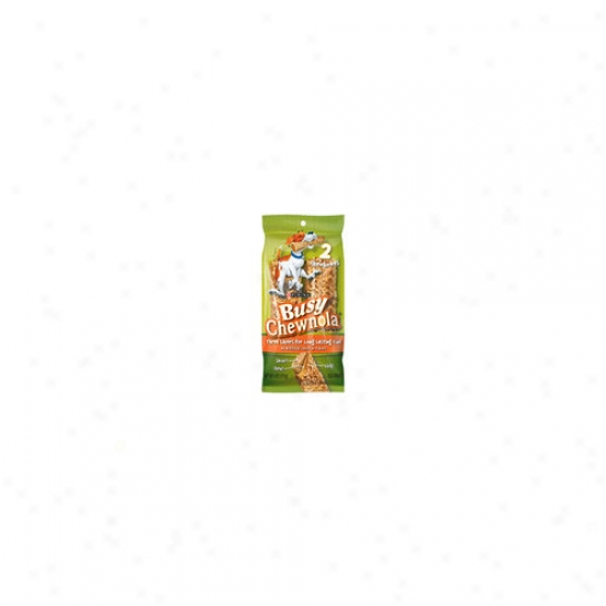 Busy Bone Chewnola Dog Treat (pack Of 4)