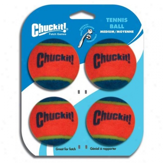 Canine 07404 Hardware 4 Compress Chuckit! Fetching Tennis Balls