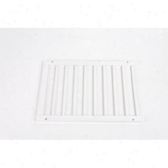 Cardinal Gates Step Over Gate Expansion In White