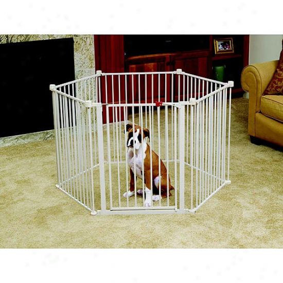 Carlson 2200ds 2-in-1 Configurable Pet Yard