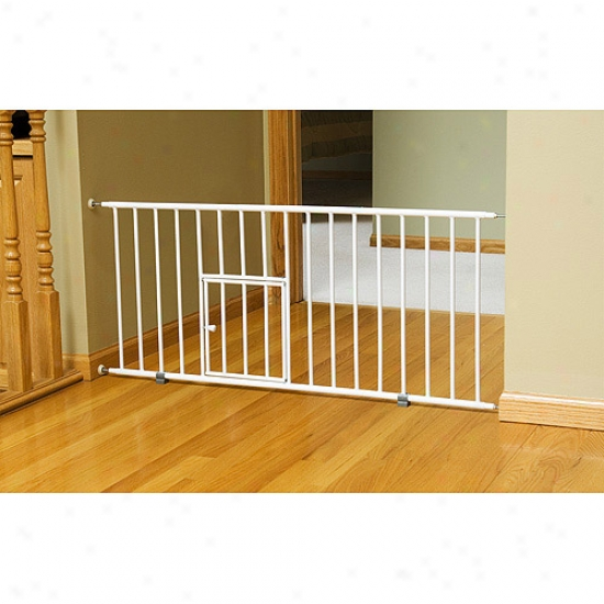 Cralson Mini Gate With Pet Passage