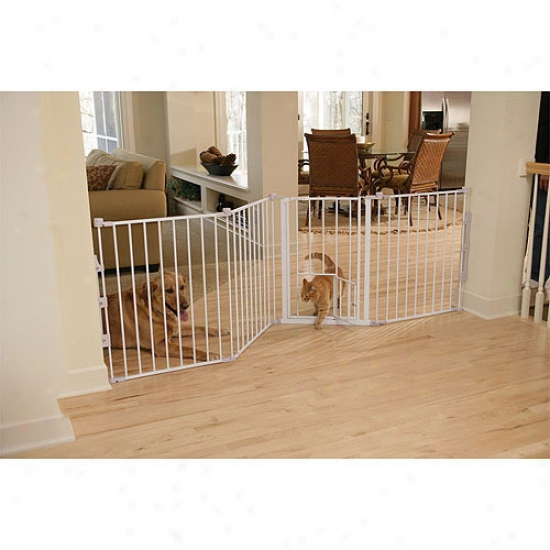 Carlson Pet Products Flexi Fondle Gate