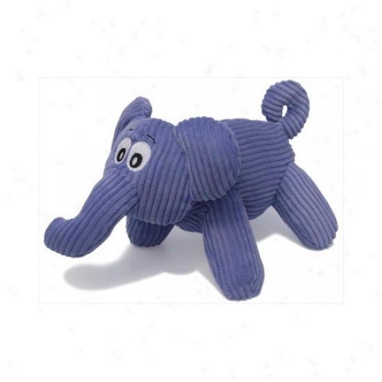 Charming Pet Proructs Corduro6 Emmathe The Elephant Dog Toy
