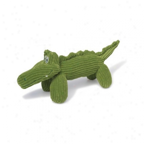 Charming Pet Products Corduroy Gary The Gator Dog Toy