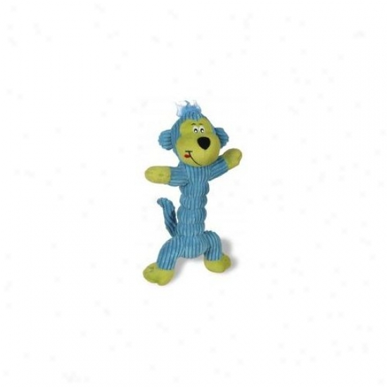 Charming Pet Products Corduroy Zonker Large Monkey Dog Toy