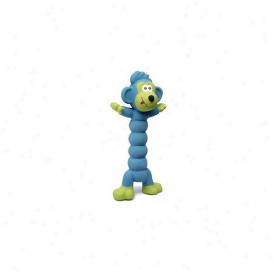 Charming Pet Products Zonkers Laebe Monkey Dog Toy