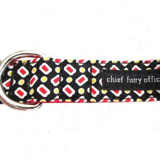 Chief Furry Officer Burton Way Dog Leash