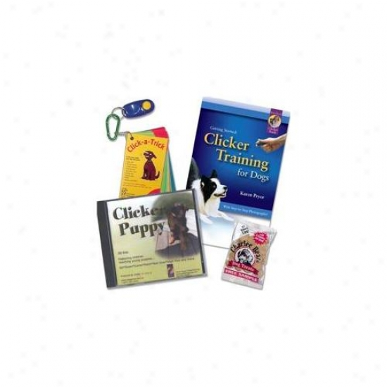 Clicker Training New! Kpktpuppy Puppy Kit Plus