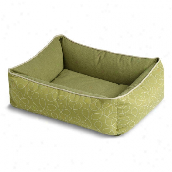 Crypton Bumper Style Loopy Dog Bed