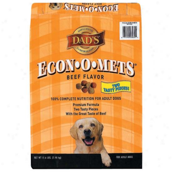 Dad's Economets Dog Food 17.6lb