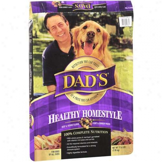 Dad's Healthy Homestyle Dog Aliment 17.6lb