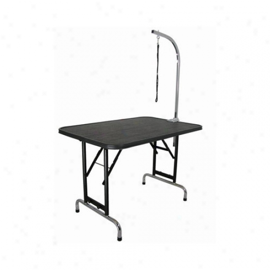 Dercin Pet Grooming Table With Adjustable Folding Legs