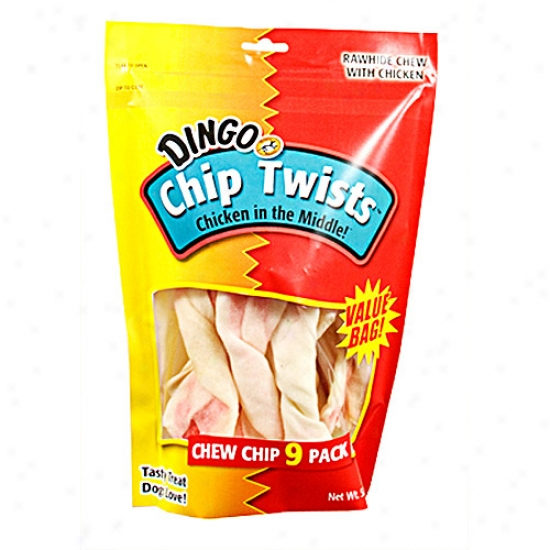 Dingo Hew Twists, 9 Pack