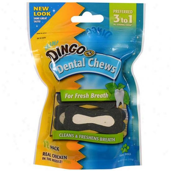 Dingo Dental Chew For Fresh Life, Mini, 12 Pack
