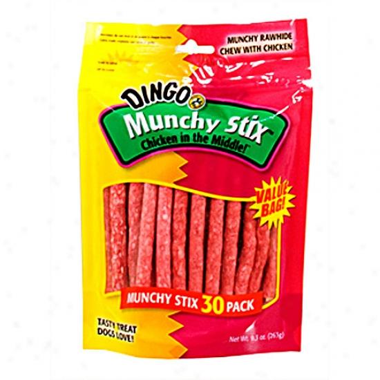 Dingo Munchy Stix, 30 Pack