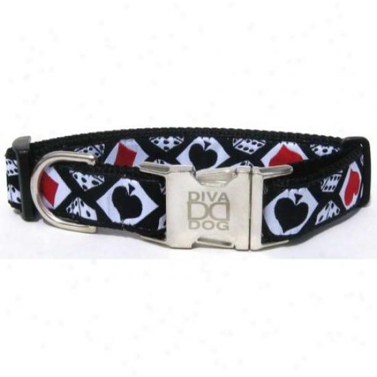 Diva-dog 11699476 Aces Teacup Collar