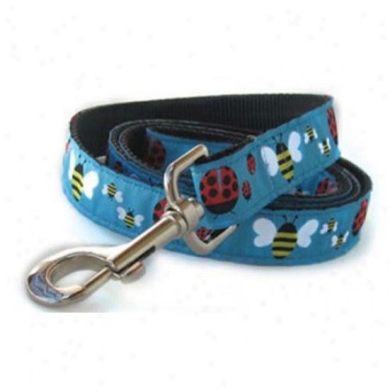 Diva-dog5 4004943 Lady Bugs And Bumble Bees Xs/s Leash