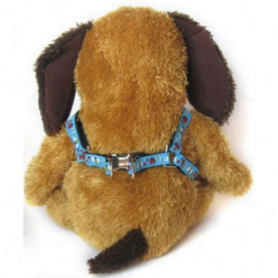 Diva-dog 5404945 Lady Bus And Bumble Bees Xs/s Harness And Leash