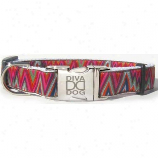 Diva-dog 8927162 Ziggy M/l Adjustable Collar