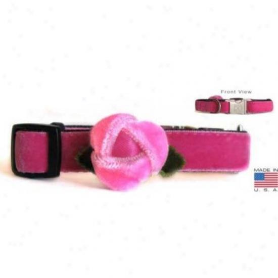Diva-dog 9244625 Rosebud Teacup Adjustable Collar
