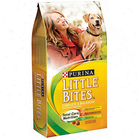 Dog Chow Little Bites Purina Dry Dog Aliment, 4lb