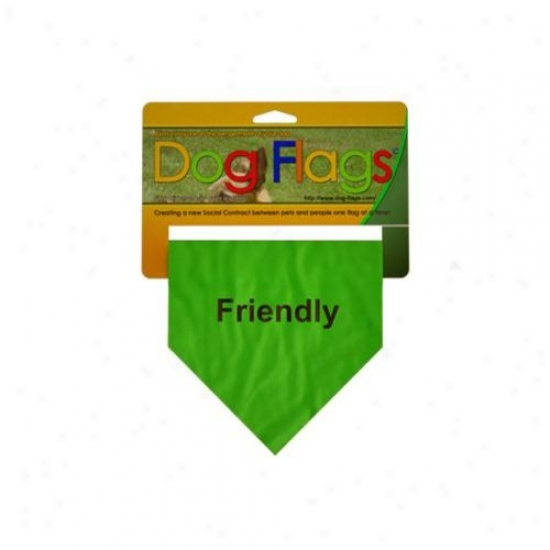 Doy Flags Gf-0003 Green Friendly Flag