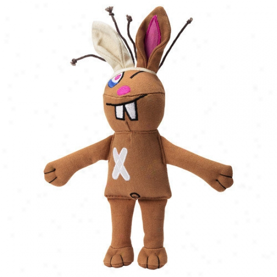Doggles Cast Of Characters  Rabbit Dog Toy In Brown