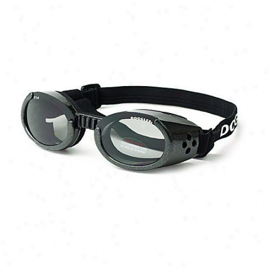 Doggles Ils Lense Dog Goggles In Black