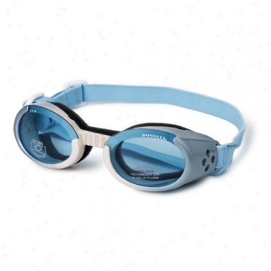 Doggles Ils Lense Dog Goggles In Ice Blue Gradient