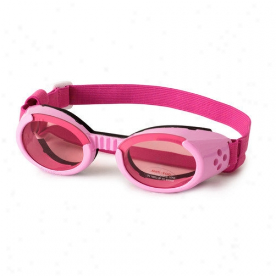 Doggles Ils Lense Dog Goggles In Pink