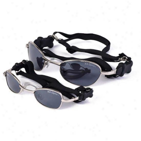 Doggles K9 Optix  Dob Sunglasses In Silver