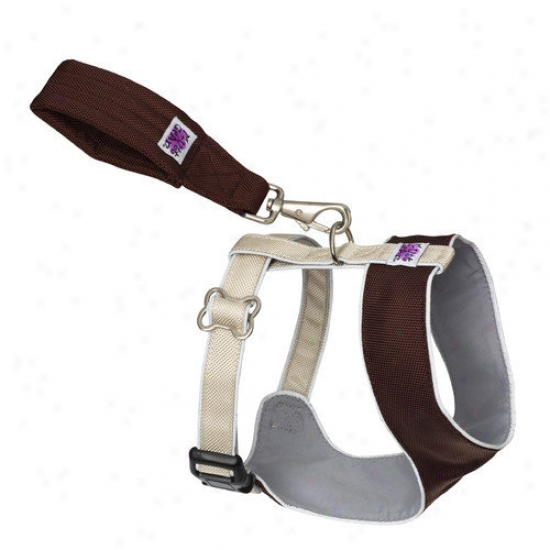 Doggles Mutt Gear  Dog Solace Harness In Brown And Tan