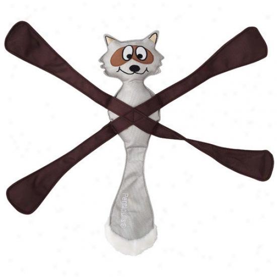 Doggles Pentapulls  Raccoon Dog Toy