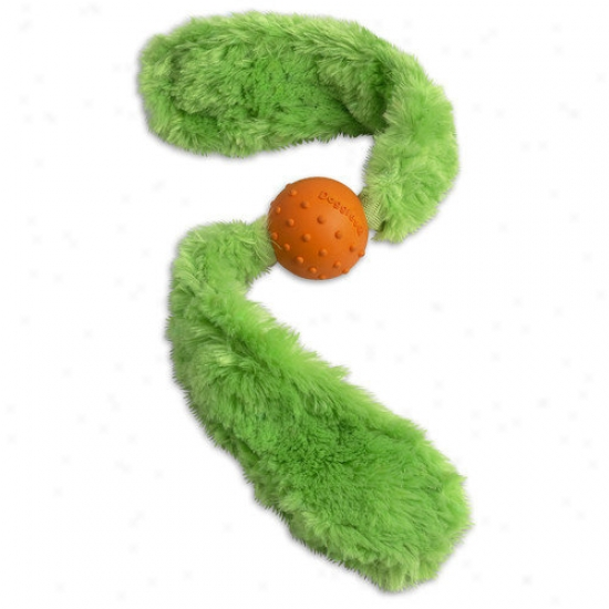 Doggles Tails Dog Toy In Green
