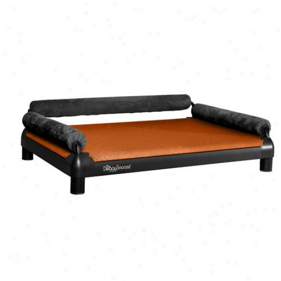 Doggysnooze Snozesofa Dog Bed With A Black Anodized Frame