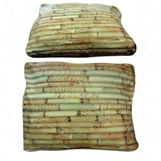 Dogzzzz Rectangle Bamboo Dog Bed