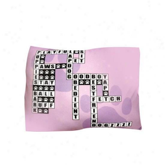 Dogzzzz Rectangle Crossword Perplex Dog Bed