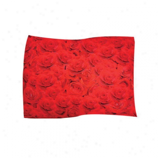 Dogzzzz Red Rose Pet Throw