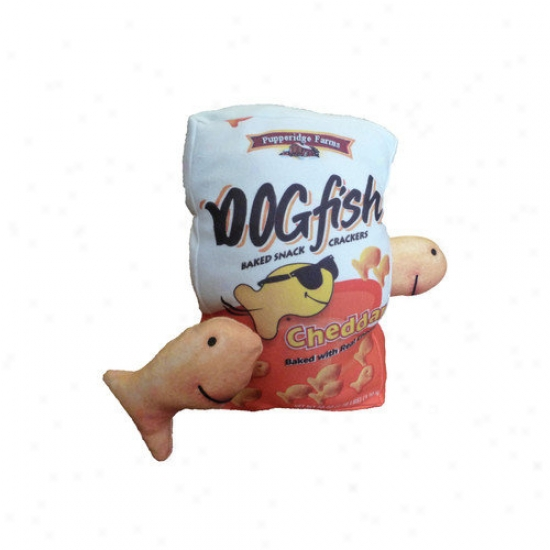 Dogzzzz Tough ChewF ish Dog Toy Set