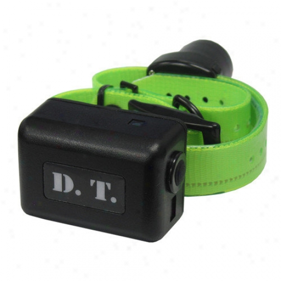 Dt Systems H2o 1-mile Remote Dog Trainer Add-on Collar With Beeper In Green