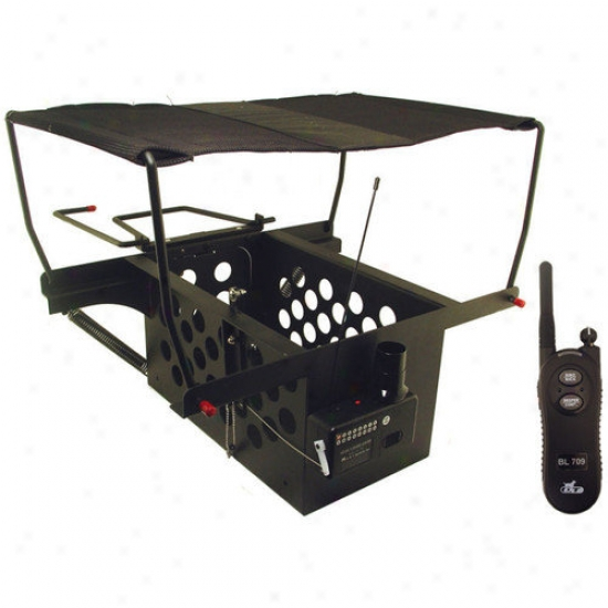 Dt Systems Natural Flueh Large Bord Launcher For Pheasant And Duck-size Birda With Remote