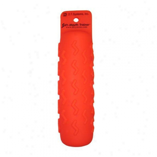 Dt Systems Soft-mouth Trainer Launcher Dummy In Orange (6 Pack)