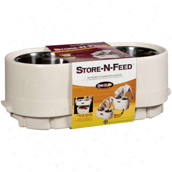 Durapet: Dog Feeder Store-n-feed, 1 Ct