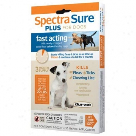 Durvet 011-1142/2925 Spectra Sure Igr For Dogs 1-22lb