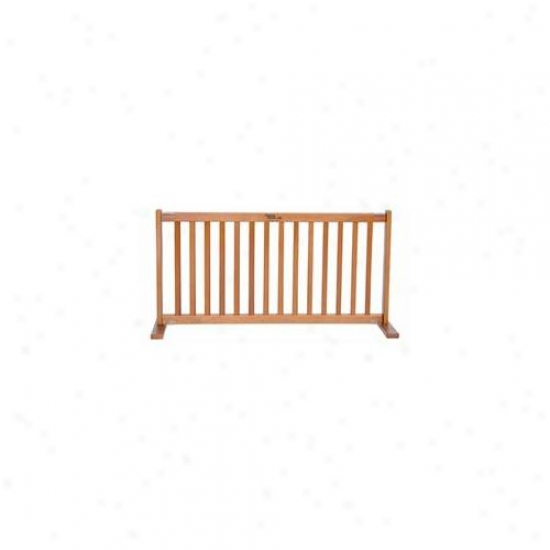 Dynamic Accents 42604 20 Inch All Wood Small Free Standing Gate Artisan Bronze