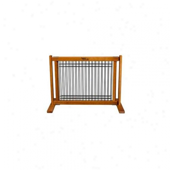 Dynamic Accents 42607 20 Inch Wood-wire Small Free Standing Gate Artisan Bronze