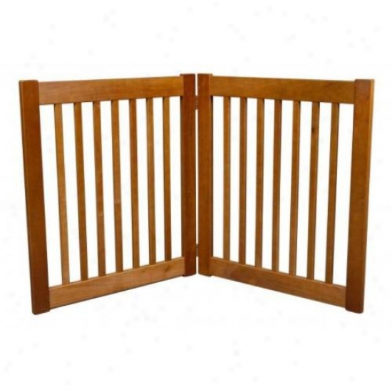 Dynamic Accents 42620 27in 2 Pandl Free Standing Ez Gate Artisan Bronze