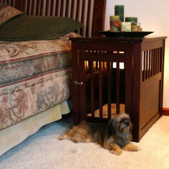 Dynamic Accents End Table Pet Crate