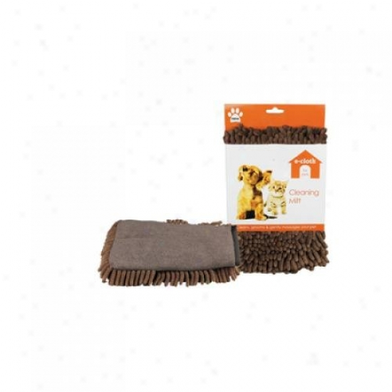 E-cloth E-pet Cleaning Mitt